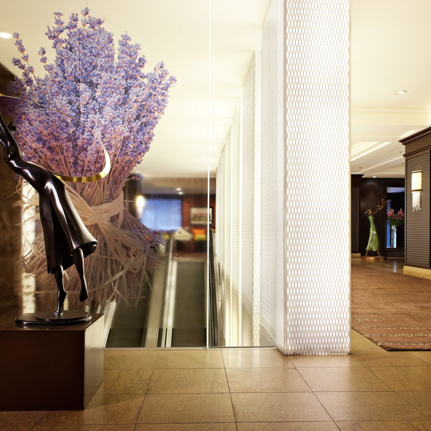 Lobby lighting hall retail tourist attraction