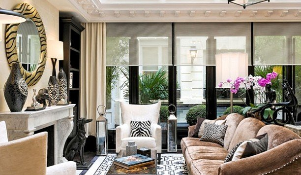 living room property home window treatment Lobby interior designer