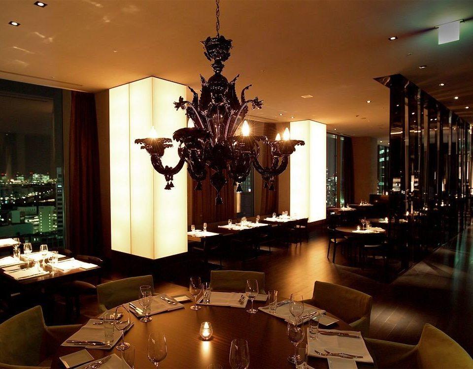 Lobby light lit lighting living room restaurant home lamp