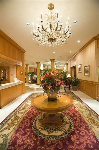 property Lobby living room home lighting mansion