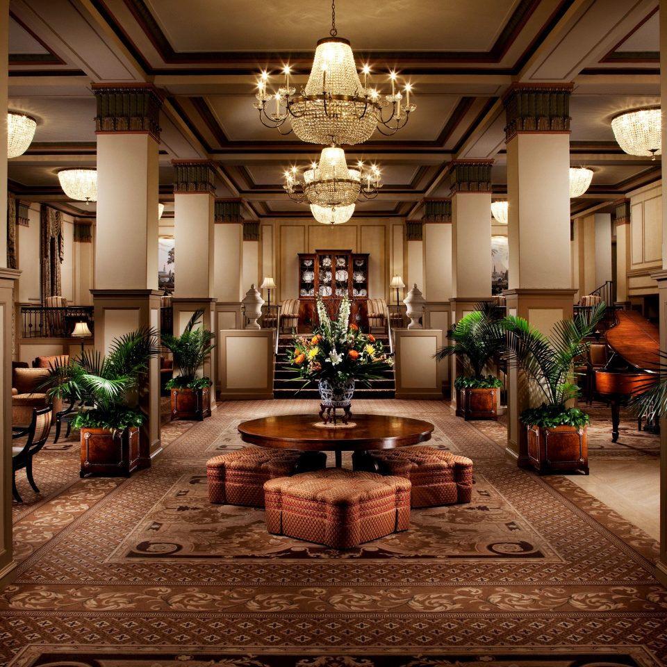 Lobby property home mansion living room lighting