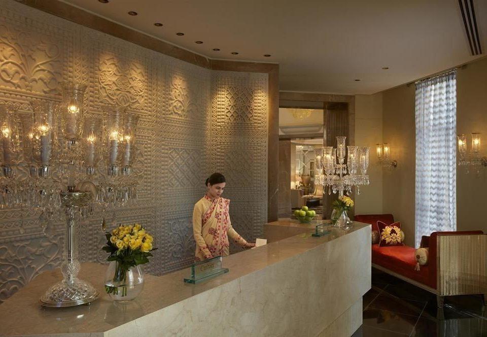 property Lobby lighting home restaurant