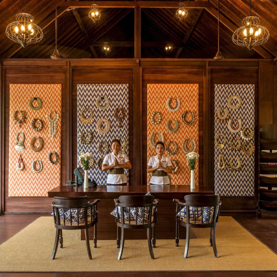 Lobby lighting home restaurant