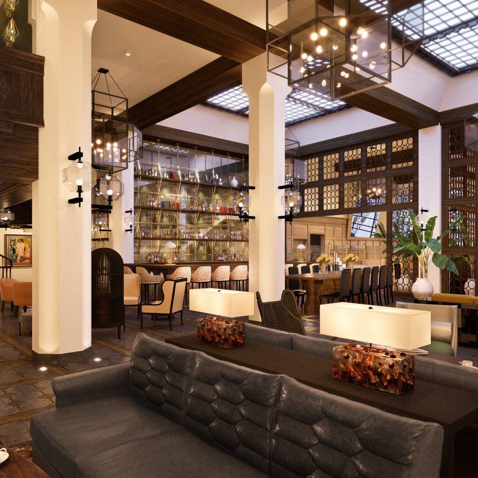 property Lobby home living room restaurant
