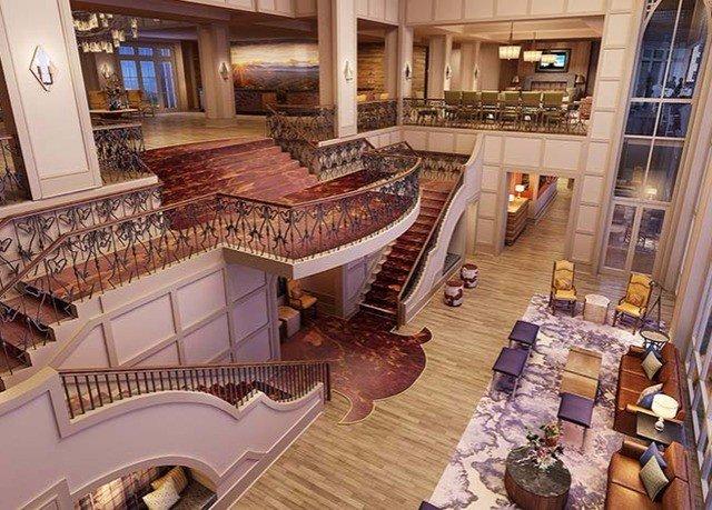 Lobby mansion home restaurant