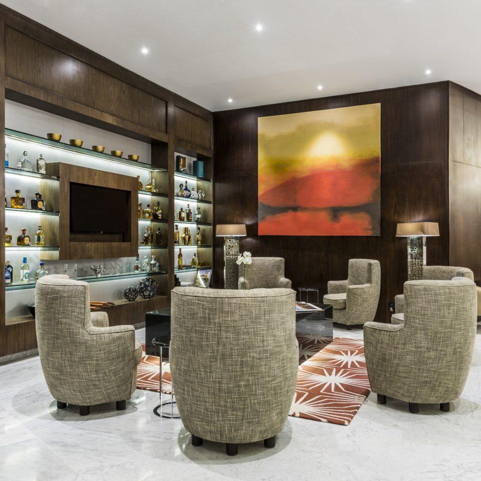 Lobby restaurant interior designer