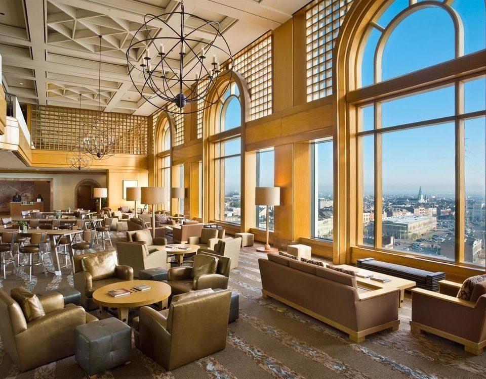 Lobby restaurant library