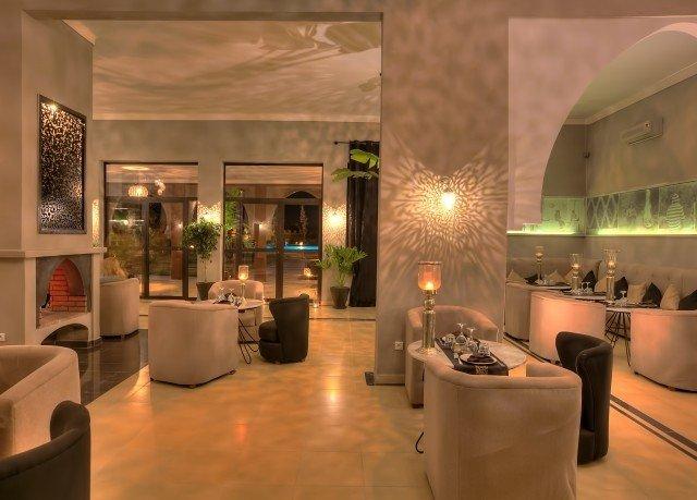 Lobby property lighting living room