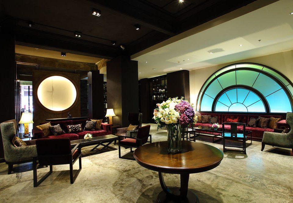 Lobby recreation room lighting living room