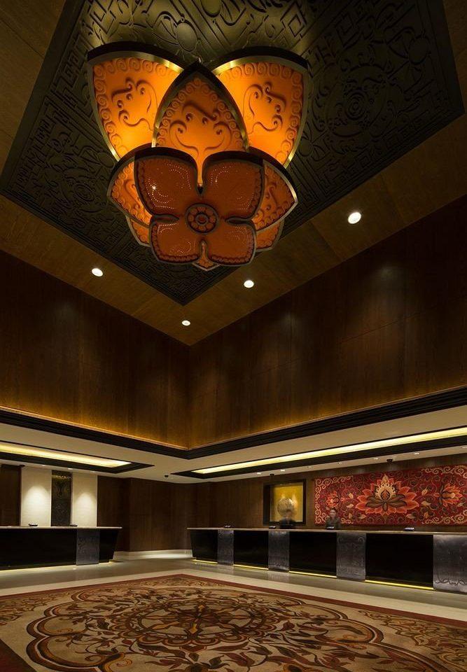 lighting Lobby theatre