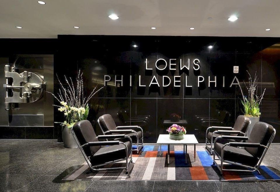 Lobby living room
