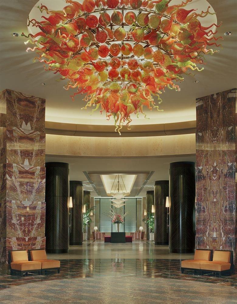 Lobby modern art living room