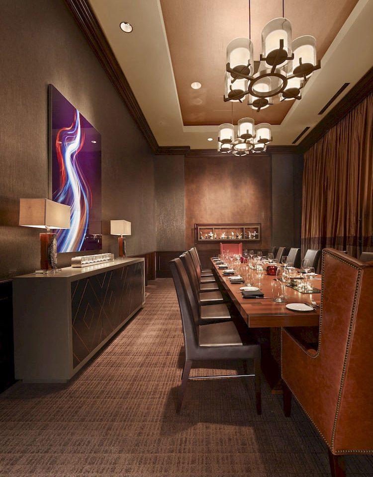 Lobby recreation room living room restaurant set