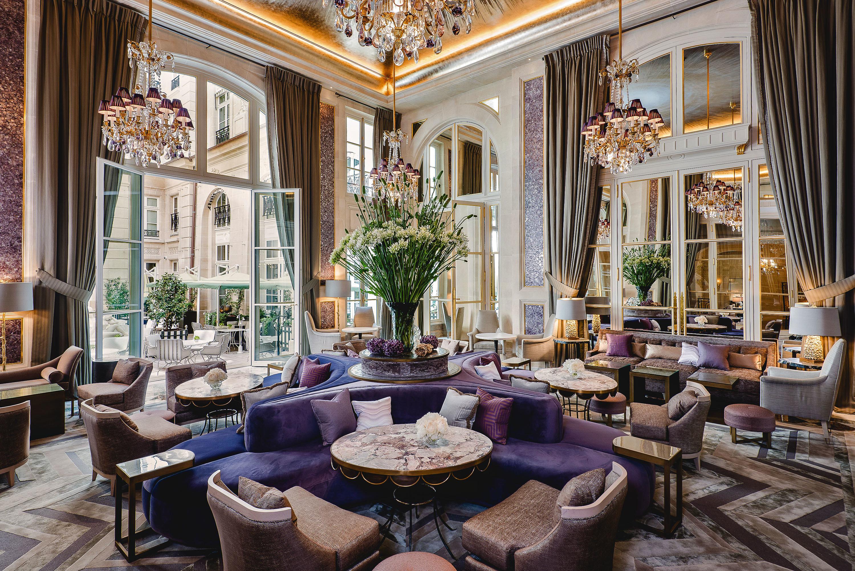 Lobby living room restaurant