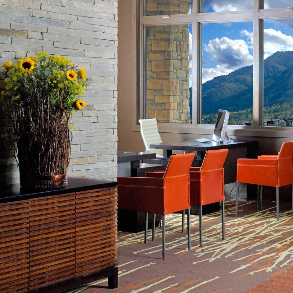 Lobby Lodge Lounge Mountains Nature Outdoor Activities Outdoors Scenic views Ski chair hardwood flooring home