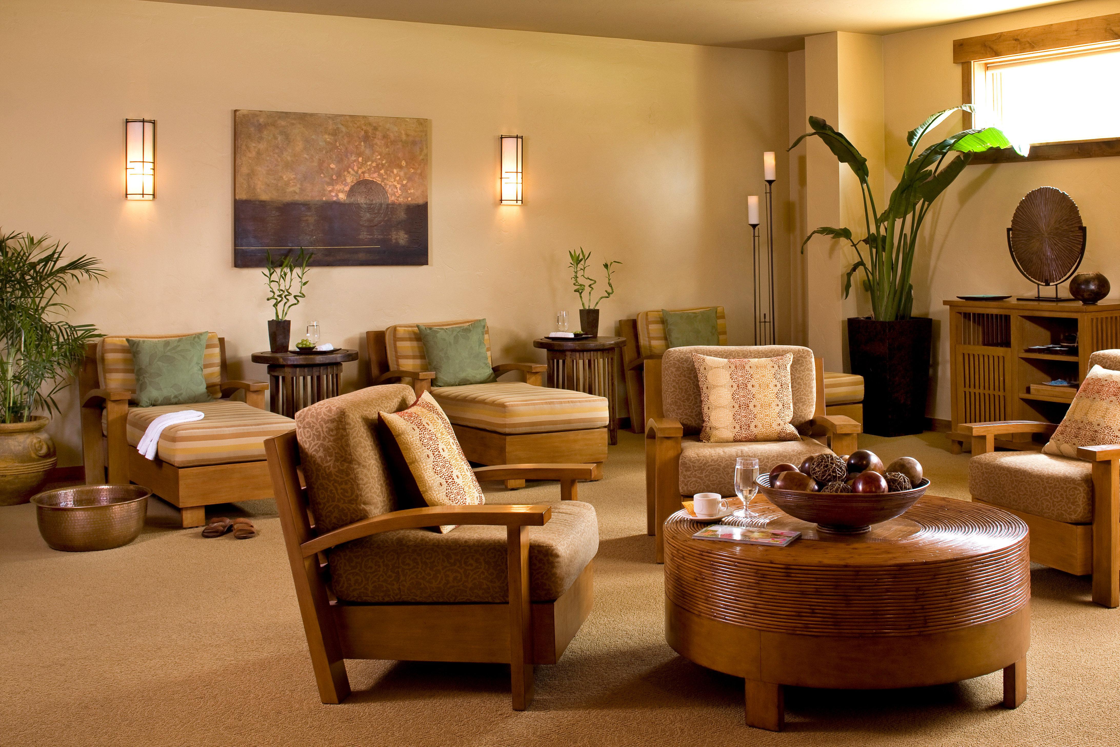 Lodge Lounge Rustic living room property home Suite hardwood condominium Lobby cottage
