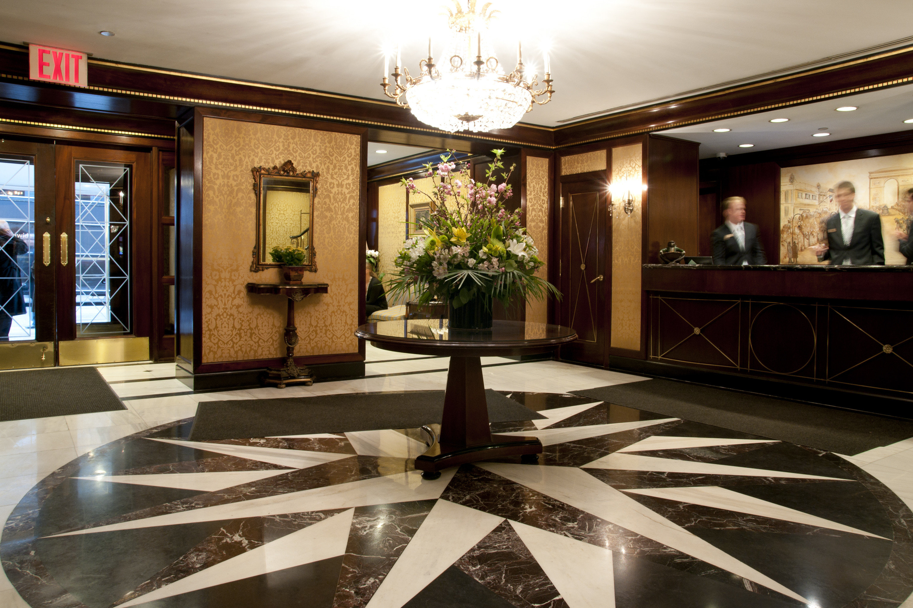 Lobby Lounge living room mansion