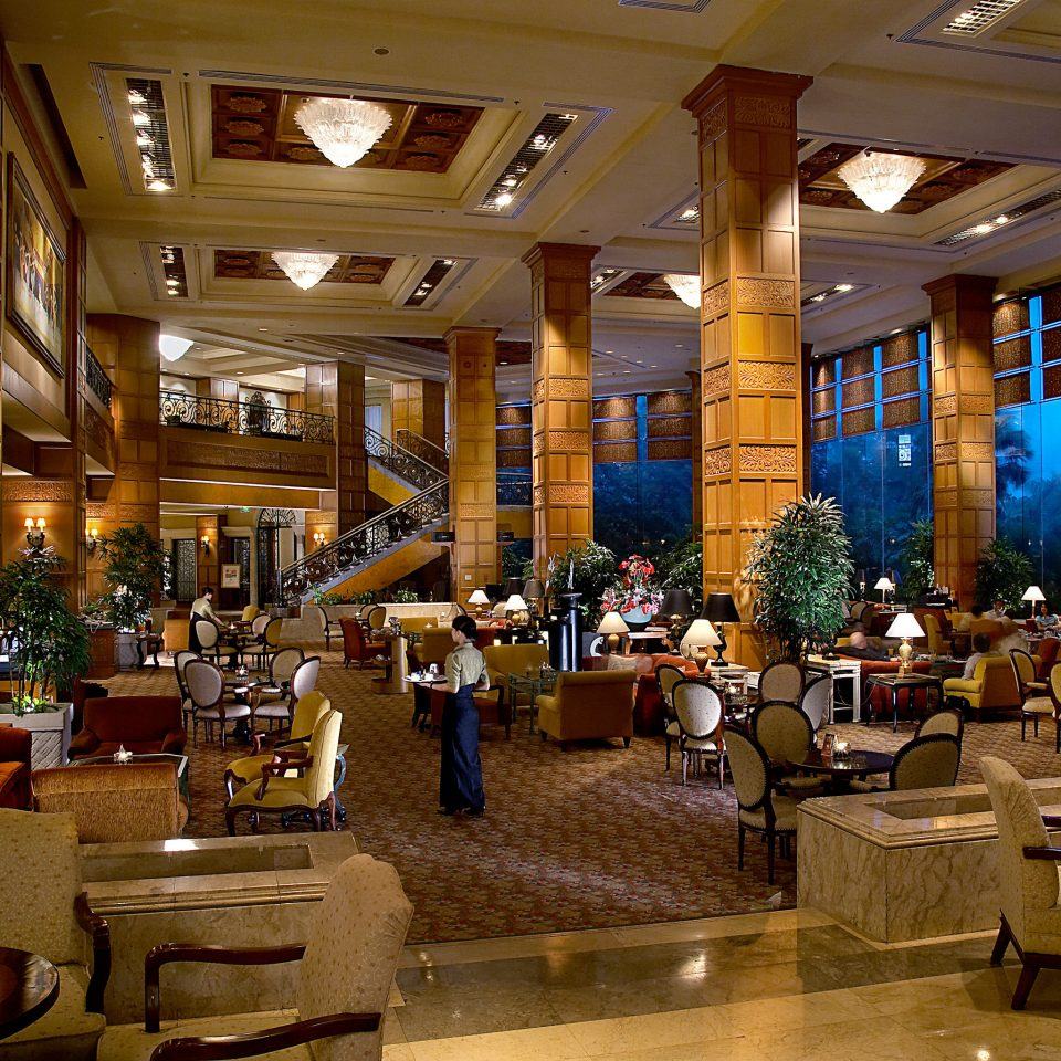 Lobby Lounge Luxury restaurant café function hall shopping mall food court convention center