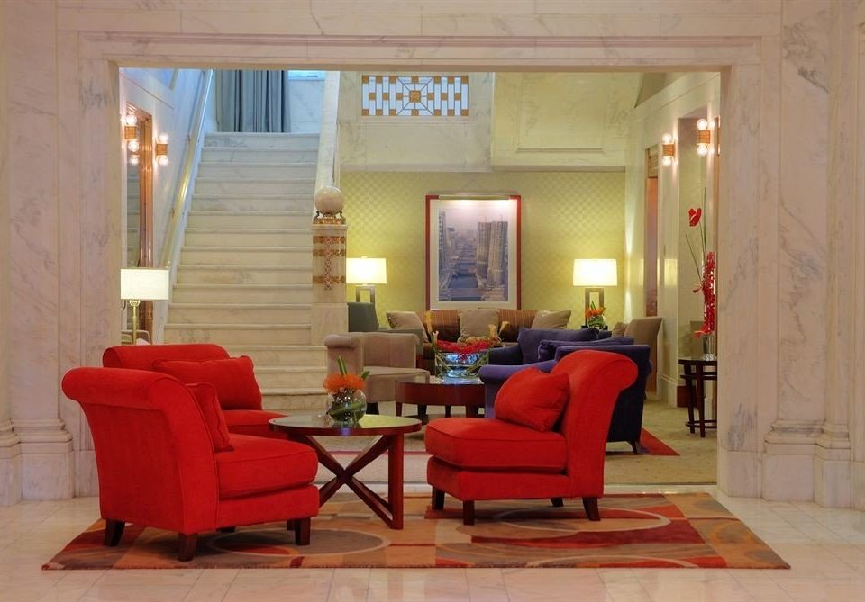 Lounge Luxury red property living room Lobby home waiting room