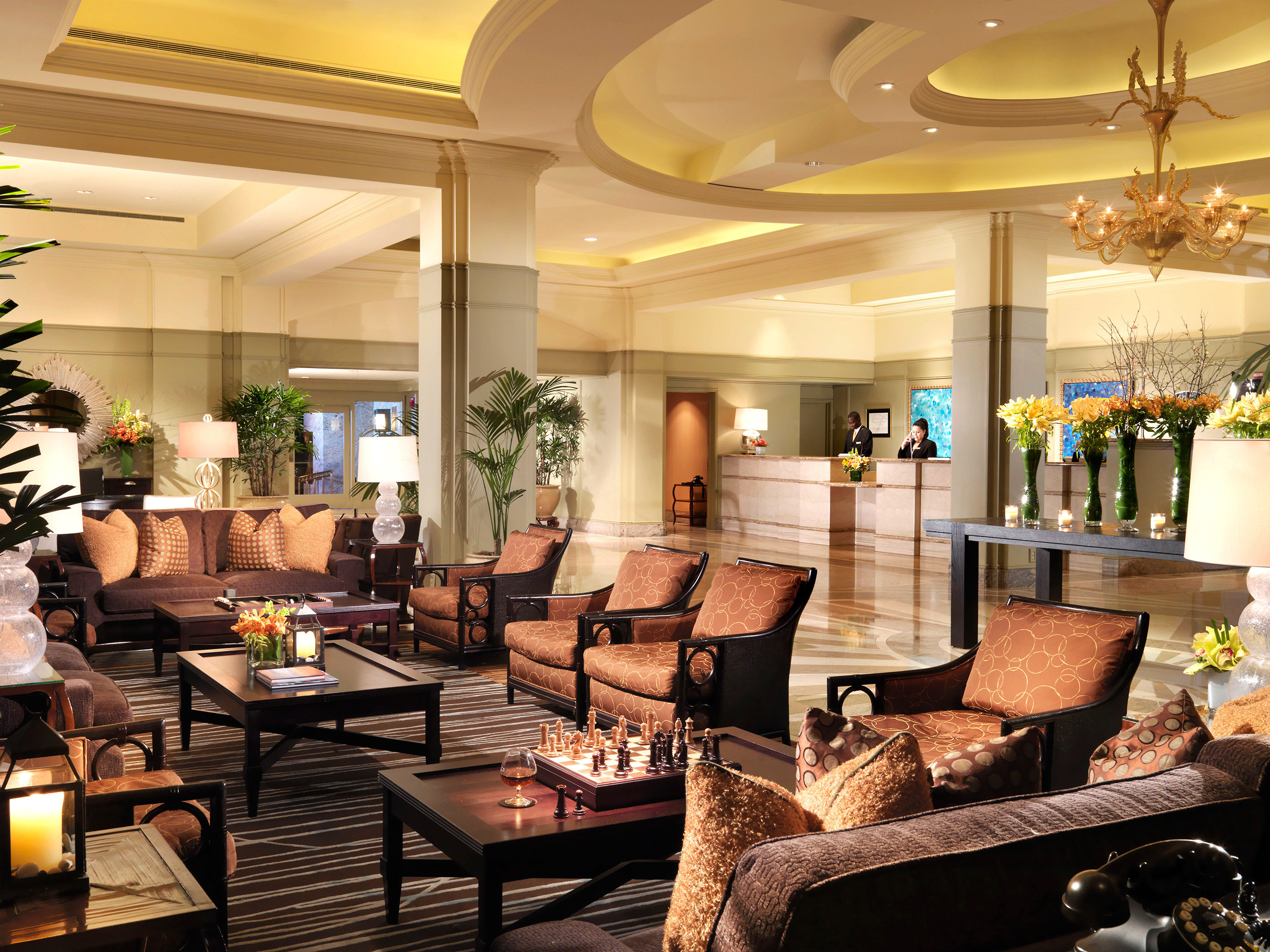 Lounge Luxury Modern Lobby living room restaurant home condominium function hall