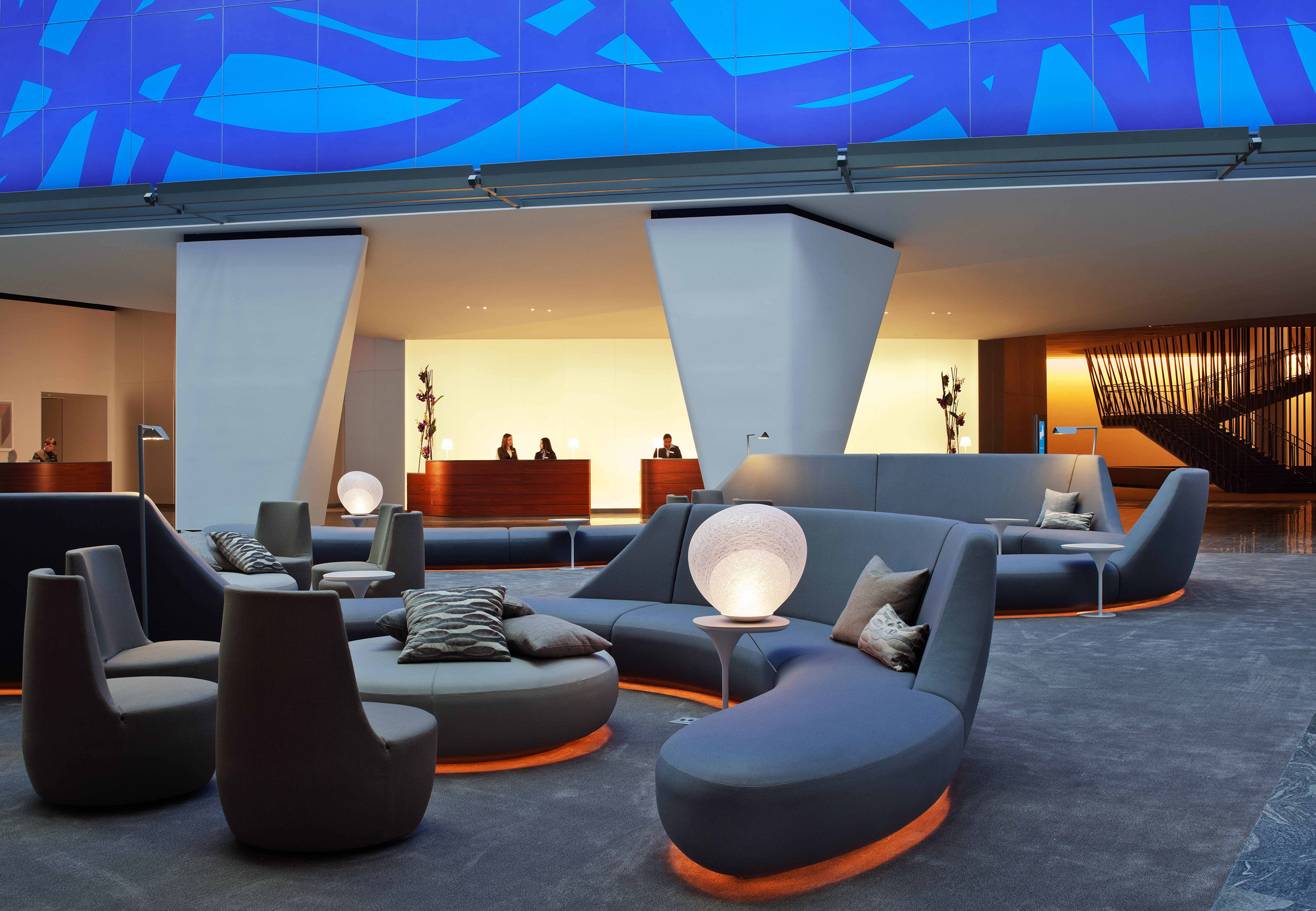 Lounge Luxury Modern Lobby living room conference hall convention center