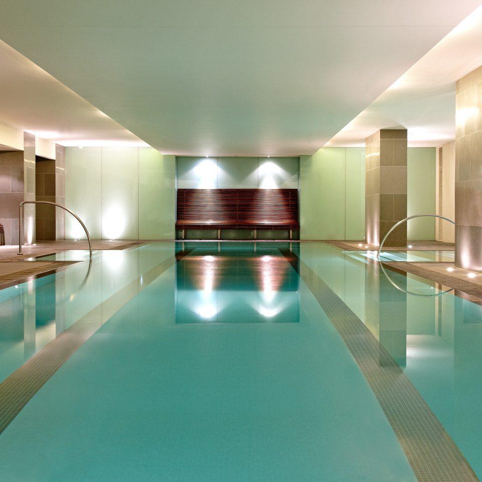 Lounge Luxury Modern Pool swimming pool leisure leisure centre Lobby condominium light