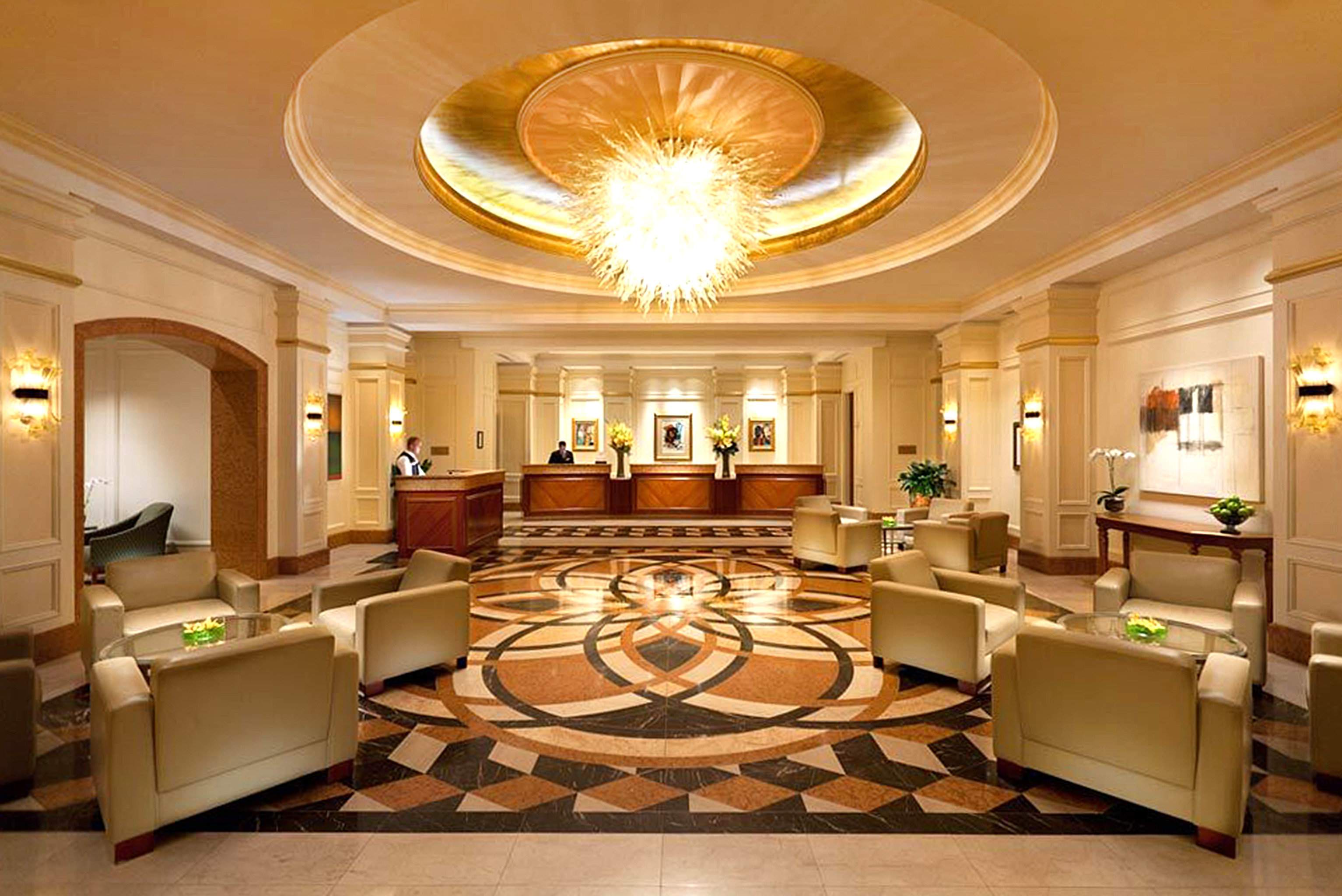 Lounge Luxury Modern Lobby property living room mansion home Suite function hall ballroom recreation room palace