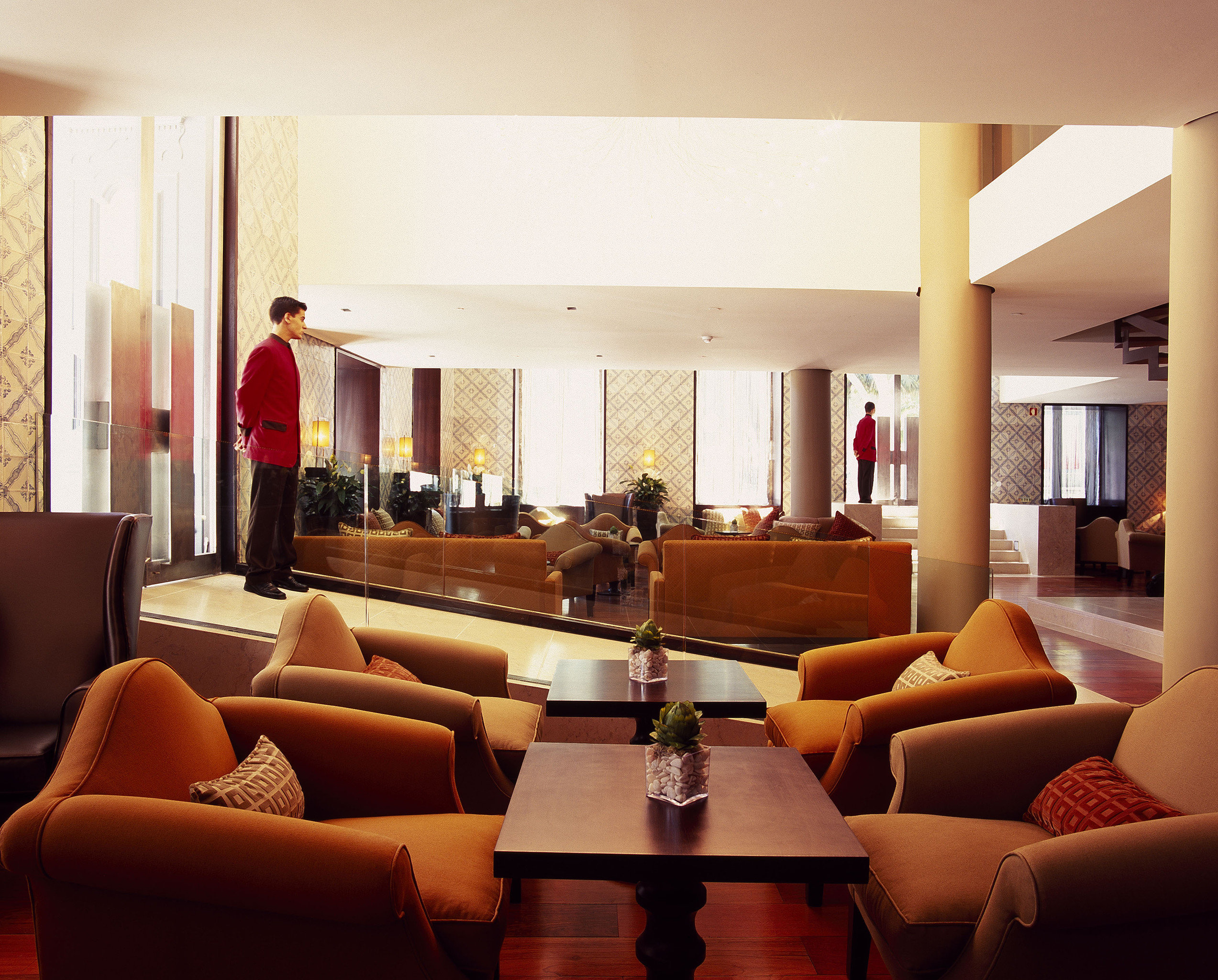 Lobby Lounge Luxury Modern sofa property living room Suite home condominium Resort Villa leather