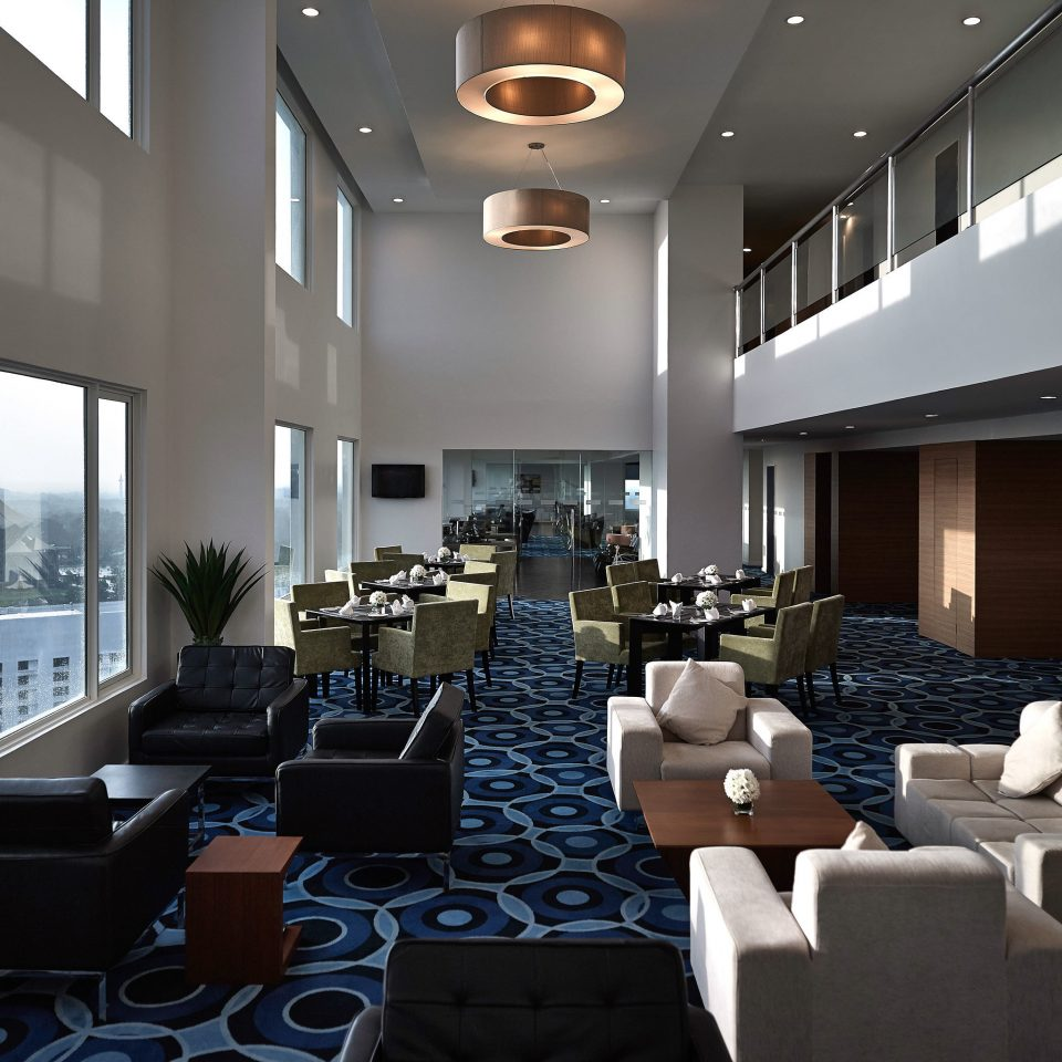 Lounge Luxury Modern property conference hall condominium Lobby living room lighting convention center auditorium