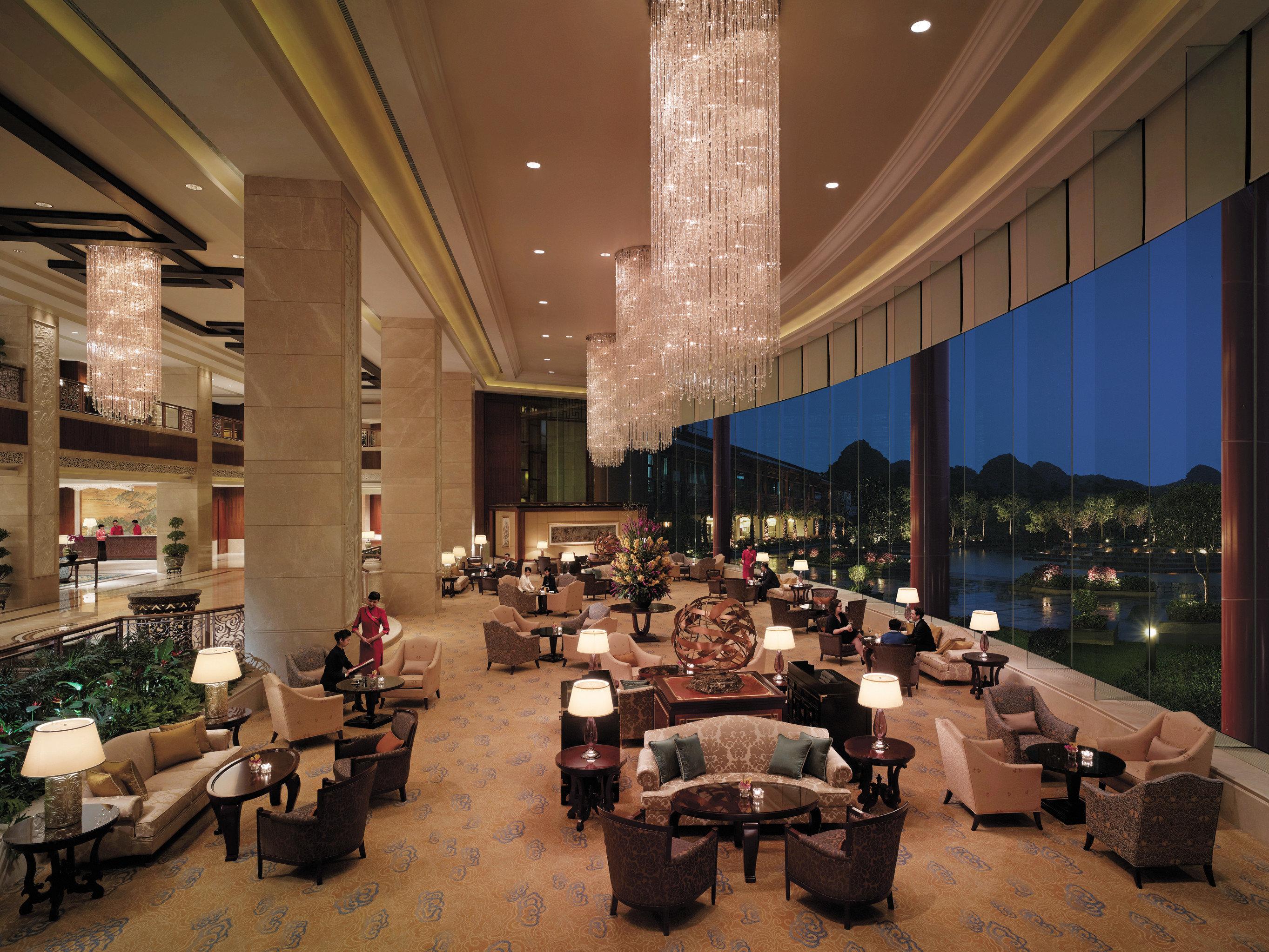 Lounge Luxury Modern Lobby restaurant function hall convention center ballroom