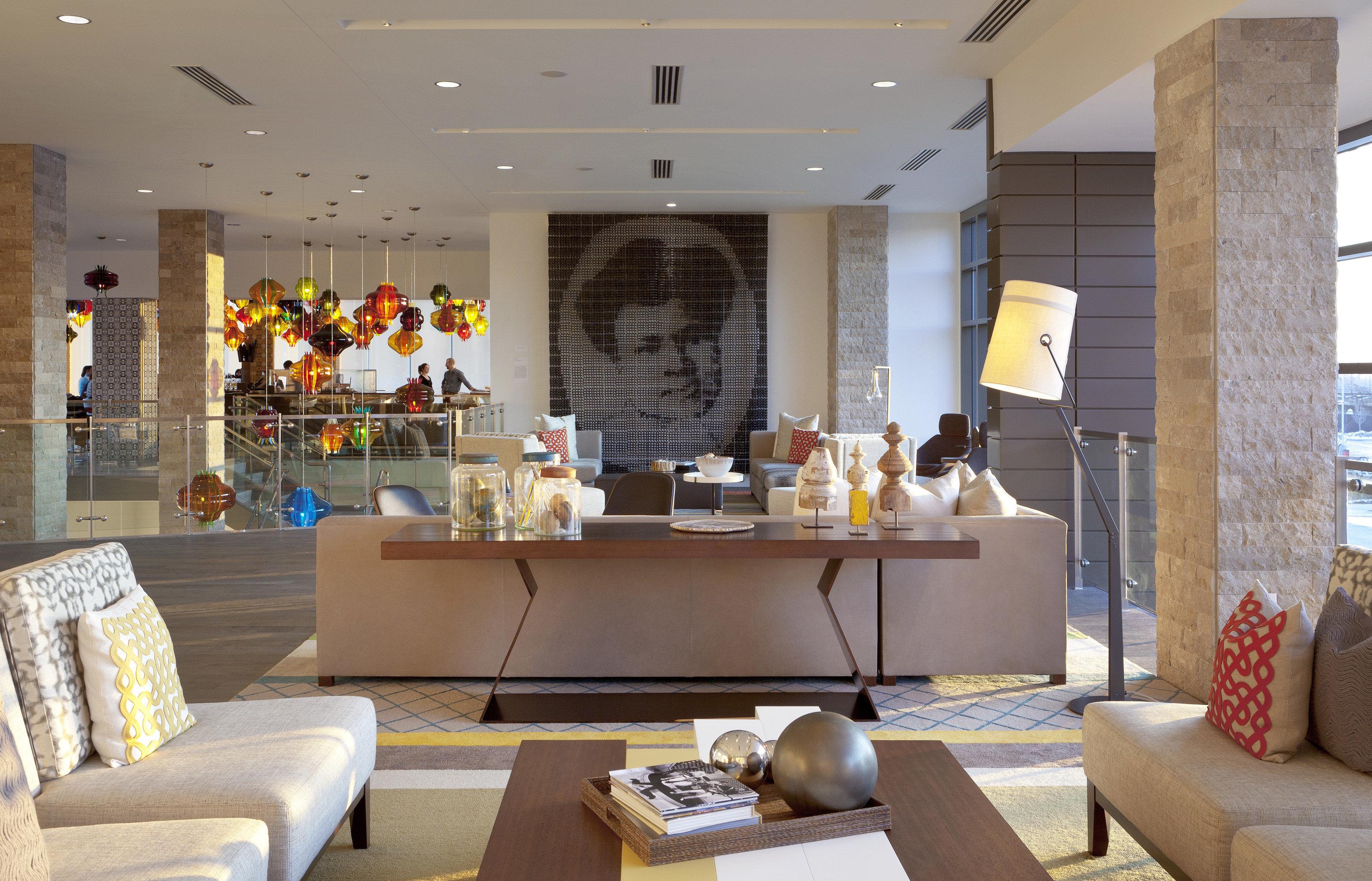 Lounge Luxury Modern property Lobby living room home restaurant condominium