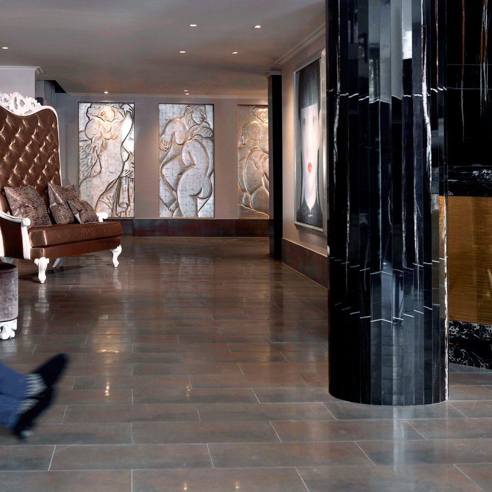 Lobby Lounge Modern flooring wood flooring