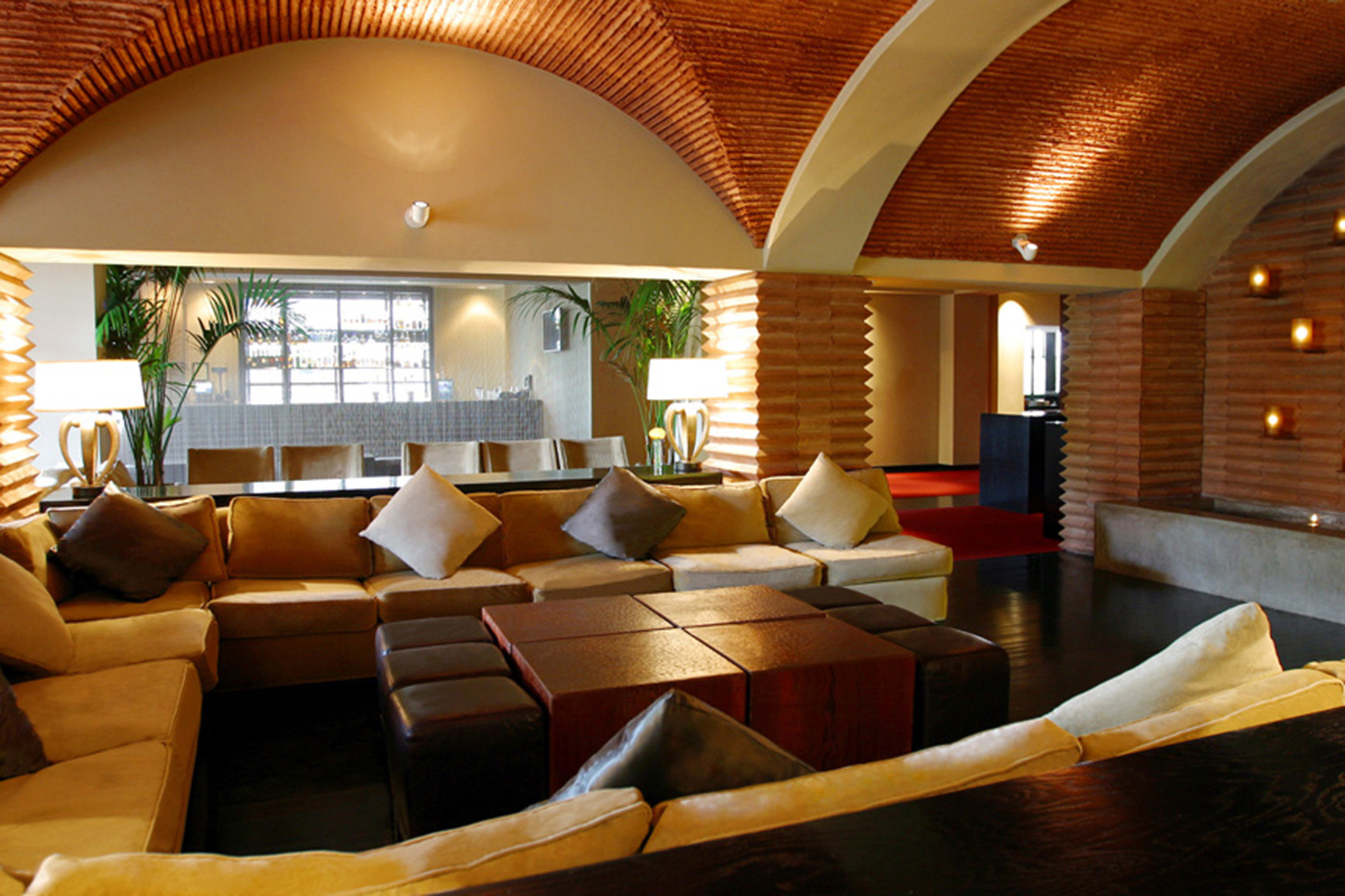Lounge Modern sofa property Resort living room yacht Suite Lobby leather