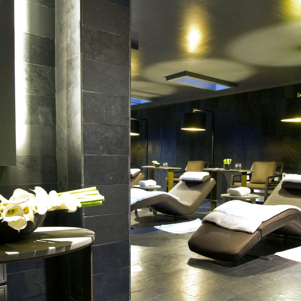 Lounge Modern Spa Wellness Lobby living room lighting condominium home Suite restaurant