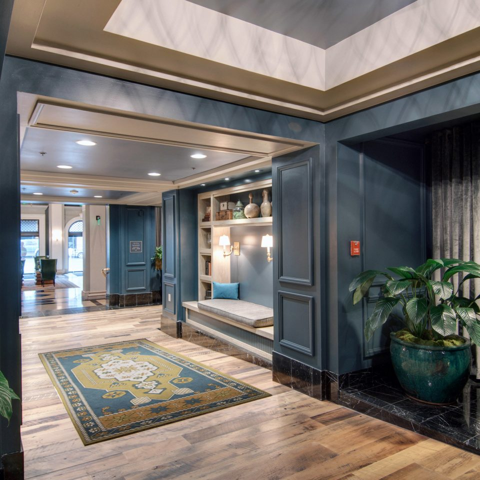 Lobby Lounge Modern property condominium home building house living room mansion Suite