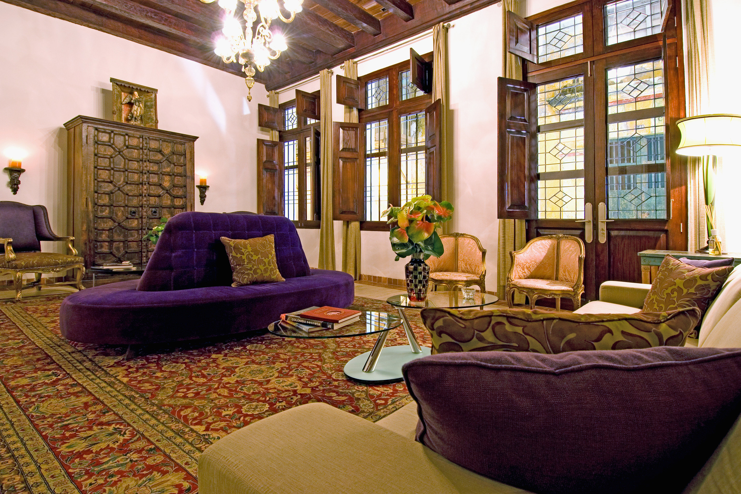 Lobby Lounge Modern living room property home house hardwood mansion cottage condominium Villa Suite rug
