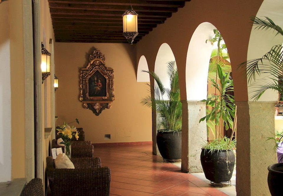 Lounge Patio Lobby house home plant hacienda tourist attraction hall living room
