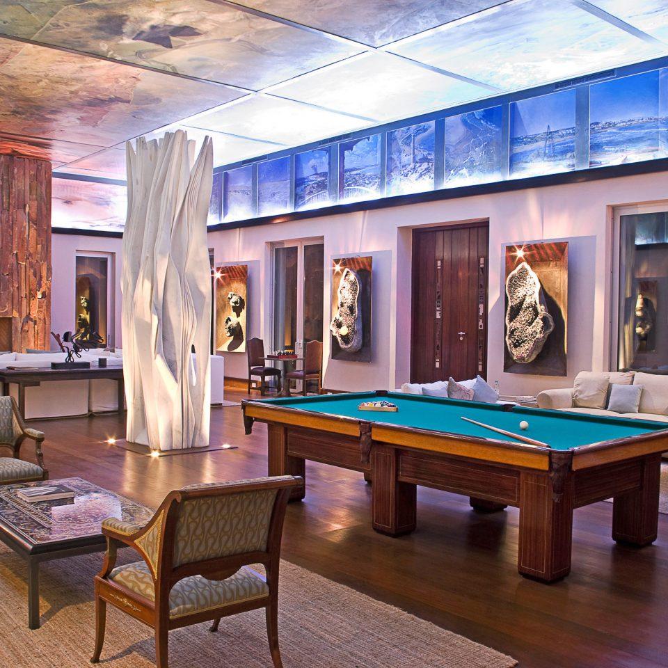 Lounge recreation room billiard room property living room Lobby Resort mansion