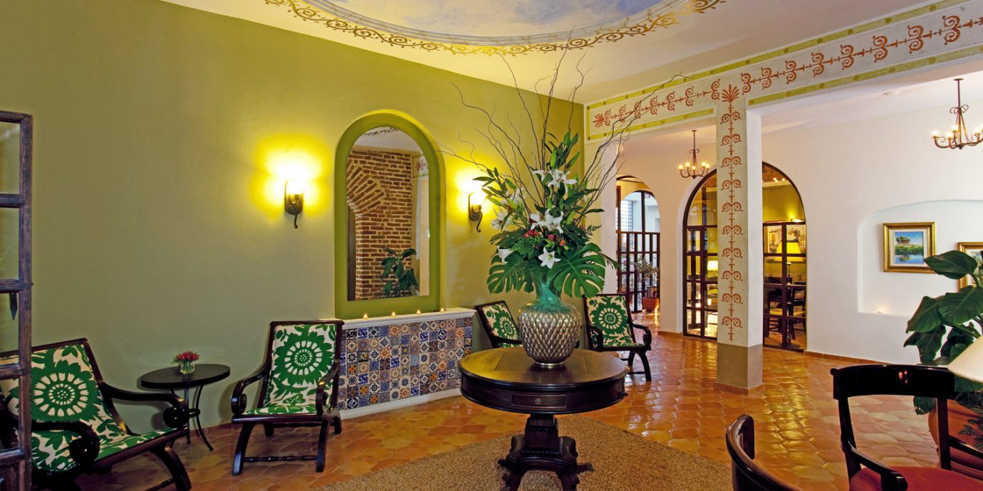 Lobby Lounge property building home mansion living room hacienda palace Villa