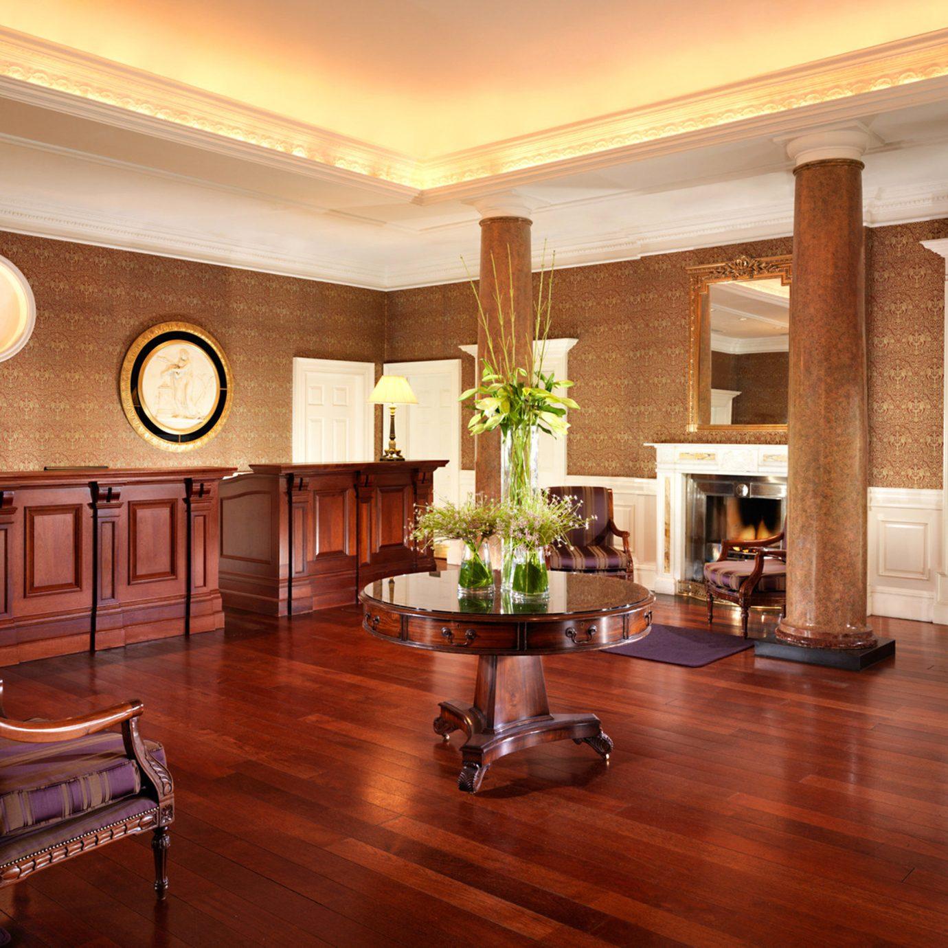 Lobby Luxury property living room home hardwood wood flooring recreation room flooring cabinetry mansion hard laminate flooring
