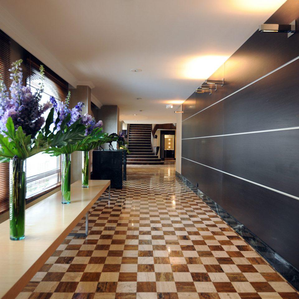 Luxury Modern Lobby property building hall condominium flooring
