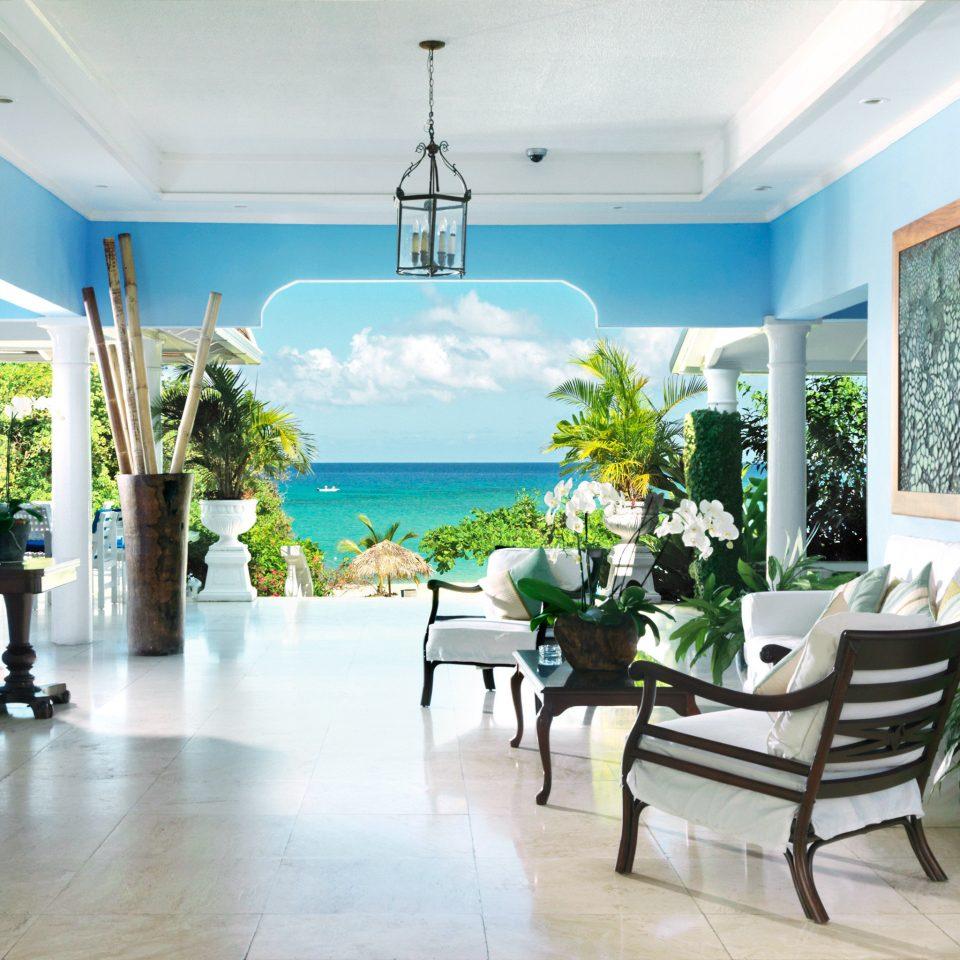Lobby Luxury Ocean property condominium home living room Villa mansion