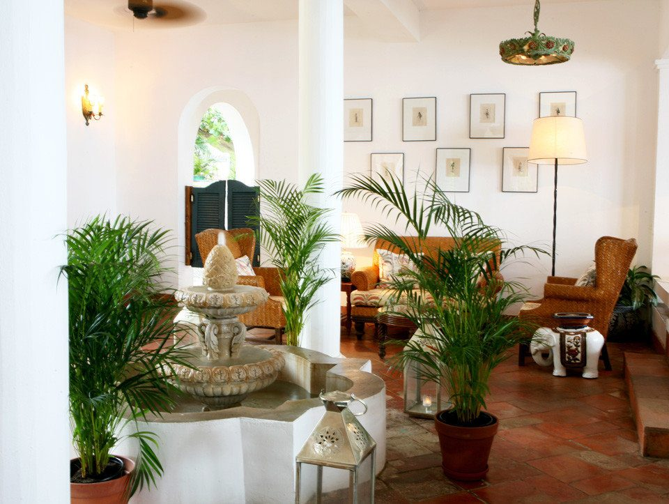 Luxury Resort plant property home living room Villa Lobby hacienda mansion cottage