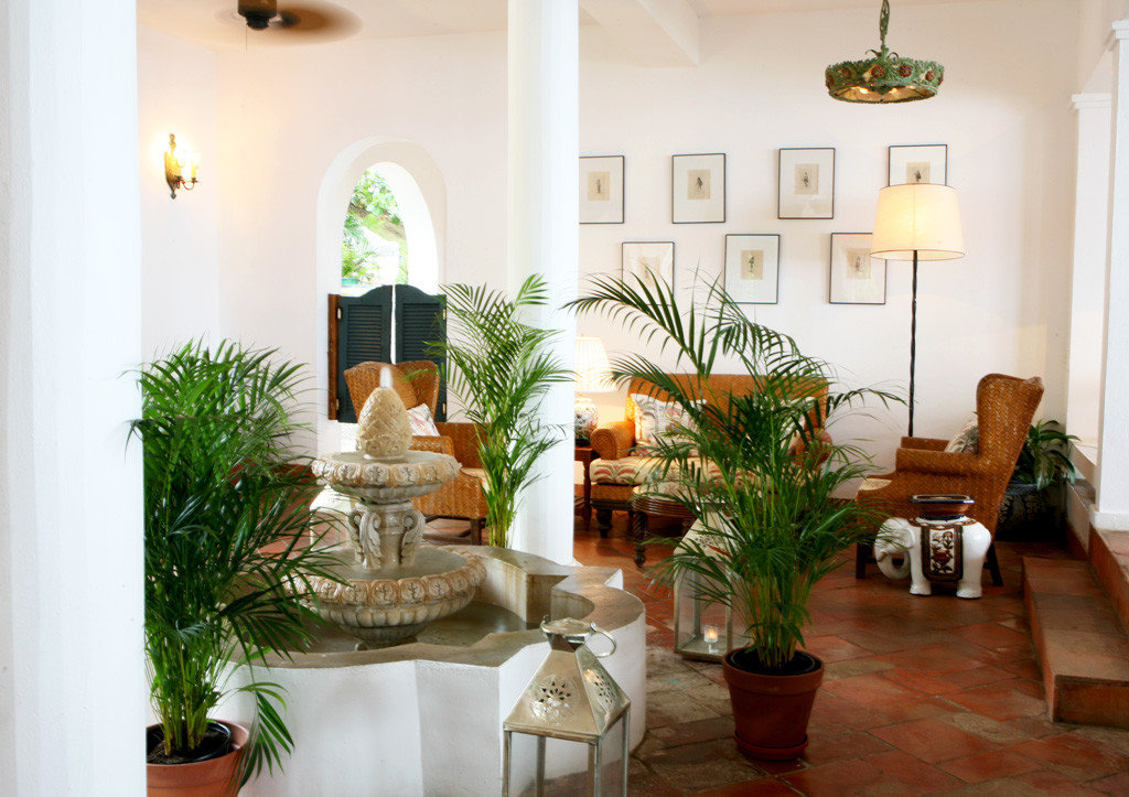 Luxury Resort plant property home living room Villa Lobby hacienda mansion cottage