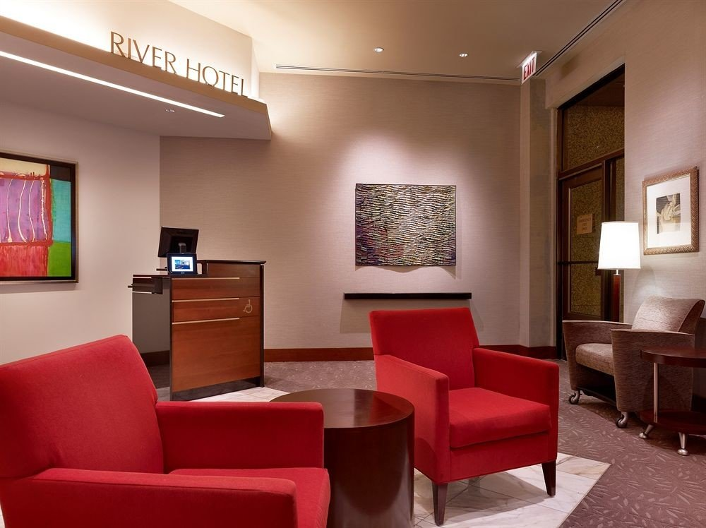Luxury red chair property living room Lobby waiting room Suite sofa