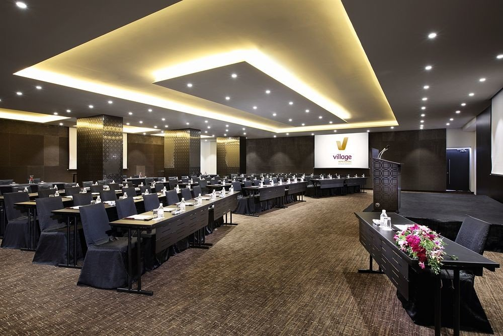 function hall conference hall Lobby auditorium convention center lighting recreation room ballroom restaurant Modern conference room
