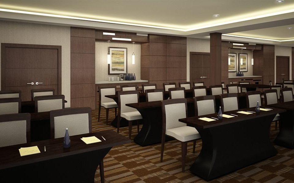 conference hall auditorium Lobby function hall restaurant lighting convention center meeting Modern
