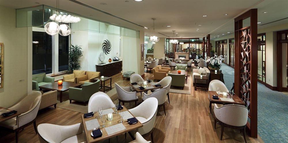 property Lobby barber restaurant Modern