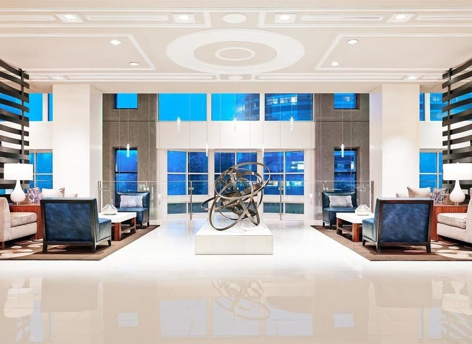 property office living room condominium home brand Lobby headquarters counter Modern tiled