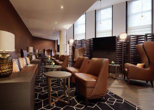Lobby living room restaurant flooring café interior designer Modern dining table
